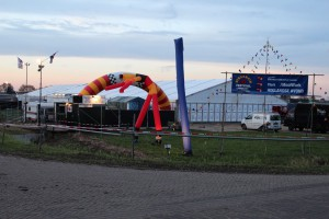 Foto's Opbouw tent Streekein 2011